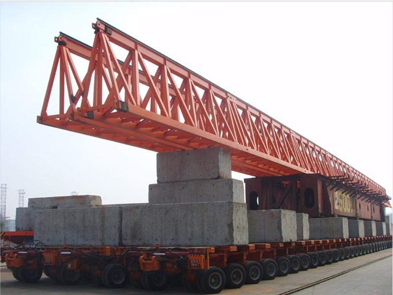 hydraulic module transport trailer